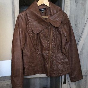 Siena's studio Brown Asymmetrical jacket